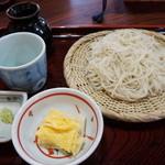 穣庵 - 御前そば(970円)(2015/1)