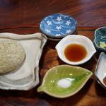 穣庵 - プレミアムそばがき(1590円)(2015/1)