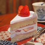 堀口珈琲 - 休日限定のショートケーキ