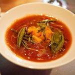 ギンザ タッポ - ウニと水茄子のガスパッチョ