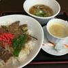 チャーシュー亭 - 料理写真:牛ロース丼セット