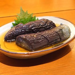 玄挽蕎麦 赤坂 ながら - 料理写真:揚げ茄子の煮浸し