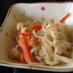 琴平製麺所 - 切干大根の煮物 100円