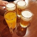 大衆酒場 俺流 - 瓶リボンオレンジ 300円