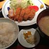 いちにいさん - 料理写真:黒豚のバラかつ(バラ肉)セット 980円