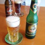 イル・ジラソーレ - ラ・ロッサビール(650円)とドッピオ・モルトビール(650円)