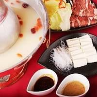 小桃園 - 夏でも人気!!「中華火鍋セット」こだわりの味を御堪能下さい。