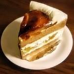 里菜 - アップルショートケーキ