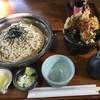 そば処 こぶし - 料理写真:ザルと天丼セット1000円