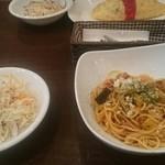 泉のテラス - 地中海野菜のミートソースランチ