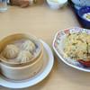 餃子の王将 - 料理写真:2012年11月  小籠包、チャーハン