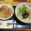 情熱うどん伊和正 - 料理写真:うどんミニ天丼セット