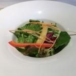アルジャーノン - ランチに付くサラダ