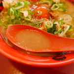 天下一品 - スープ