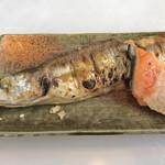 たまや食堂 - 大カマスの塩焼きヽ(゚◇゚ )ノ