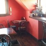 レストラン オズ - 明るい2階席