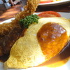 あけぼの - 料理写真:デラックスプレート(デミソース)