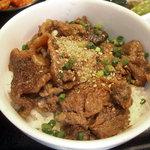 4498923 - 「こだわりの冷麺とミニ土古里丼セット」ミニ土古里丼