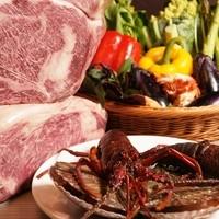 肉とこの冬限定の海老鍋