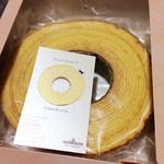 カシュ カシュ - バームクーヘン3センチ厚(900円)