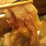つけ麺 えん寺 - とろとろのバラ肉