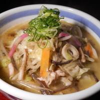 和風ちゃんぽん(うどん麺のチャンポン)