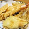 天婦羅いもや - 料理写真:定食の天ぷら