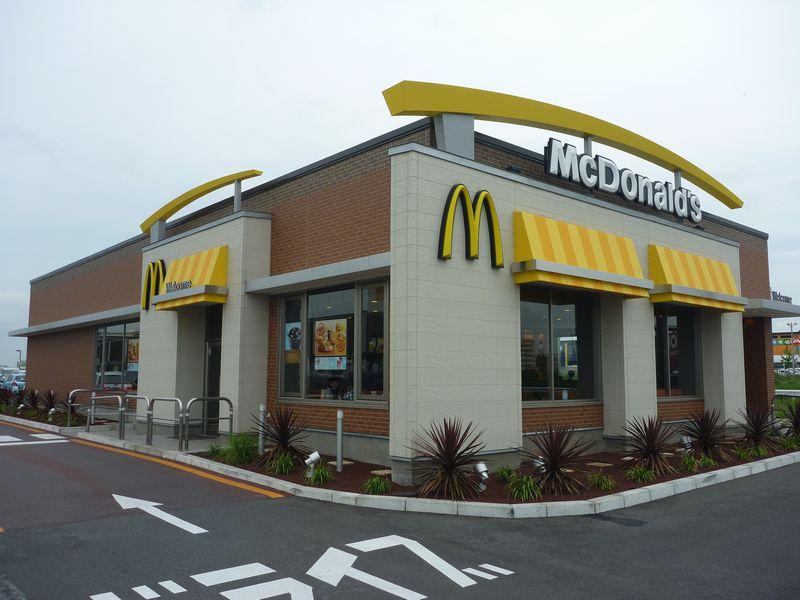 マクドナルド 464印西牧の原店