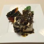 45000952 - ピータンと豆腐の湖南ソース