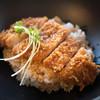 風河 - 料理写真:上州もち豚ロース肉ソースカツDon