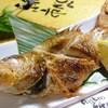 居酒屋 居乃一BAN KANAZAWA - 料理写真:やっぱり食べたい「のど黒の塩焼」!日替わりですが、他にも焼き魚をたくさんご用意しています。