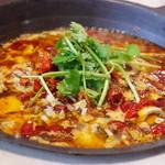 味坊鉄鍋荘 - 水煮鱼片