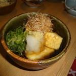呑・さなみ - 揚げだし豆腐
