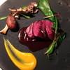 日本料理 楮山 - 料理写真:鹿腿肉のロースト、赤ワインソース
