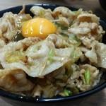 伝説のすた丼屋 - 生姜丼
