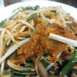 新華苑 - 料理写真:レバーの下処理を丁寧にやっているから美味しく食べられます(^O^)v