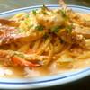 カボット カフェ - 料理写真:渡り蟹のトマトクリーム スパゲッティ