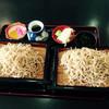 そば処 三喜庵 - 料理写真:もりそば 食べ放題 ¥980  最低でもこのセイロ2枚であとは何枚おかわりしても同じ値段です^_^;