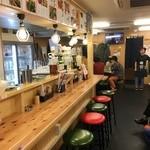 串屋横丁 - 店内カウンター