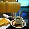 アイアン - 料理写真:コーヒーとトースト