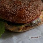 エリックス・ハンバーガーショップ - アメリカンクラシックチーズ 440円