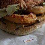 エリックス・ハンバーガーショップ - カウボーイチーズバーガー 440円