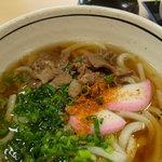 鯖島食堂 - 肉うどん