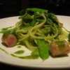 海賊船 - 料理写真:イタリアンソーセージのバジルソース(900円)