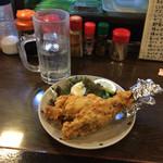 とん平 - カエルの唐揚げ