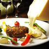 イタリアンキッチン Sa - 料理写真:アルプスの少女ハイジでお馴染みの「ラクレットチーズ」スイスより直輸入しました♪