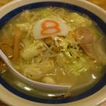 8番らーめん - 料理写真:野菜ラーメン(塩)