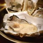 かき小屋フィーバー オクトパス - ( ;´Д`)ナマ牡蠣✨ ちょっとだけ食べよ♡ #20年ほど前に住之江の居酒屋であたった #4、5年前にソウルのポッサム屋であたったw #ぜんぜん懲りませんw #何でもナマが好き♡ #長堀橋パトロール
