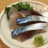 ざわさん - 料理写真:シメサバとヘダイ刺し(300円)