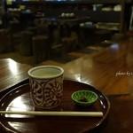 甘酒茶屋 - 2015年10月 甘酒【400円】ほんわ~(´∀`)